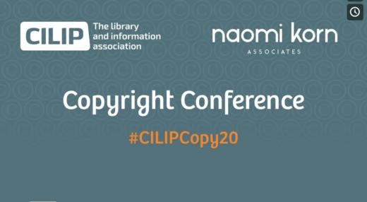 CILIP Copyright Conference